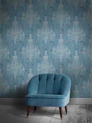 Light-blue-chandelier-butterfly-glamorous-wallpaper-crystal-wings-divine-savages