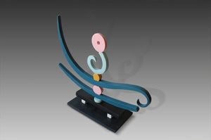 Patricia-Volk-Herald-Colourful-Ceramic-Sculpture