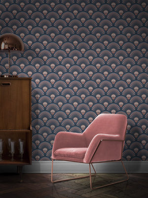 Pink-blue-1920s-deco-style-glamorous-wallpaper-decor-divine savages