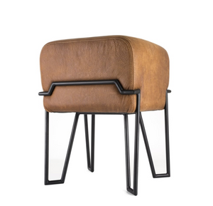 Nubuck Leather Stool