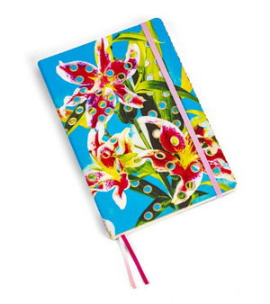 Large Notebook - Flowers