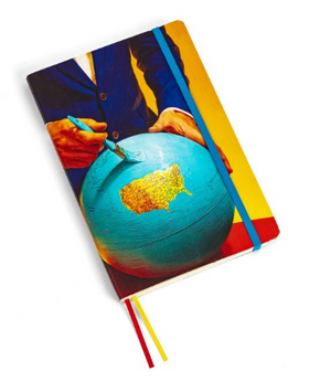 Large Notebook - Globe