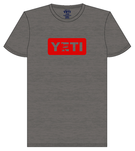 YETI Batter Gray w/ Red