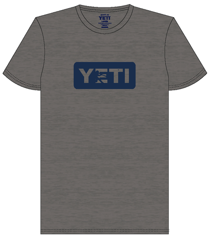 YETI Batter Gray w/ Navy