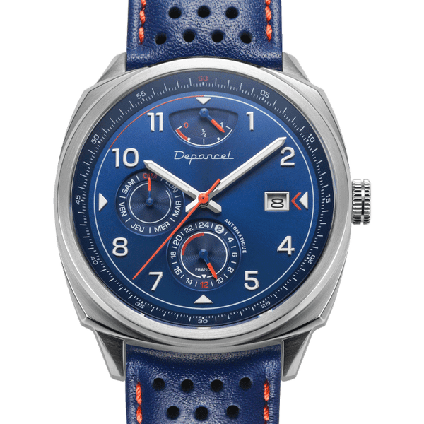 MONTRE AUTOMATIQUE - AUTO RS - BLEU HERITAGE