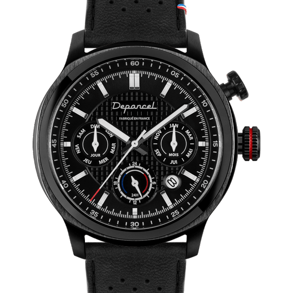MONTRE AUTOMATIQUE - AUTO 24H - Full Black