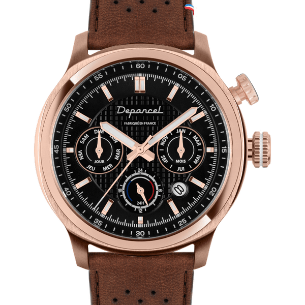 MONTRE AUTOMATIQUE - AUTO 24H - ROSE GOLD