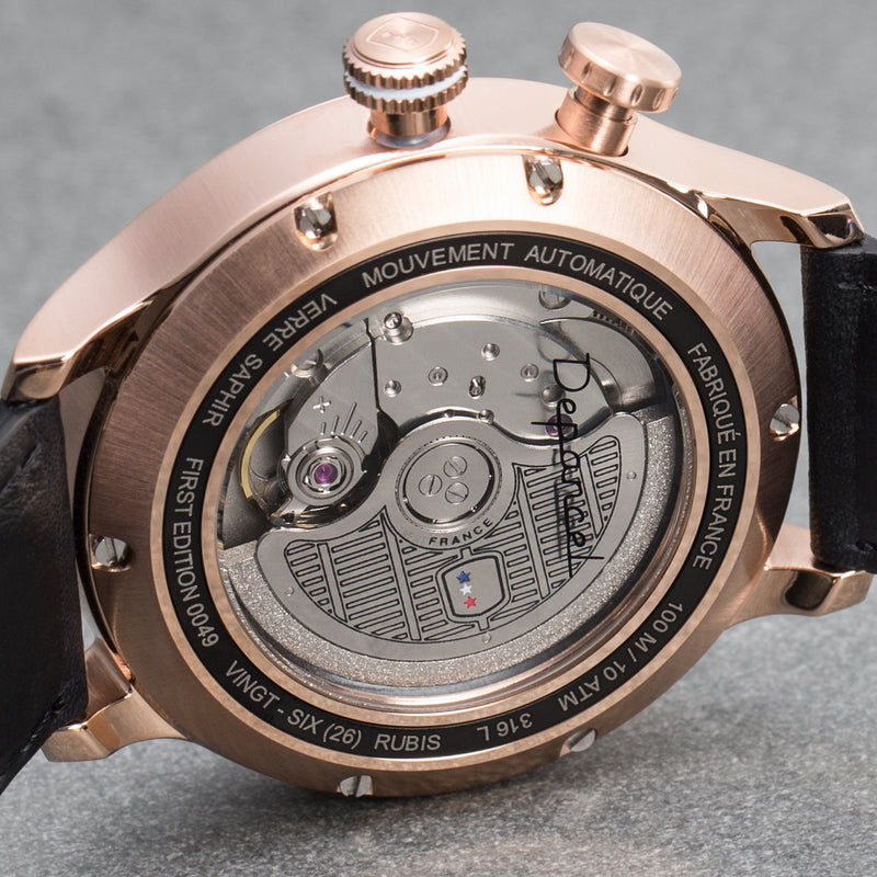 Montre AUTO 24H - Rose Gold