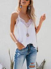 Load image into Gallery viewer, Spaghetti Strap  Lace Plain Camis