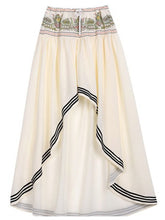 Load image into Gallery viewer, Bohemia Style Irregular Hem Beach Skirt