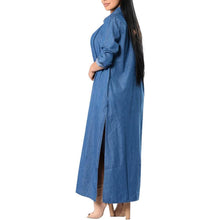 Load image into Gallery viewer, Fashion Denim Long Sleeve Casual Outerwear