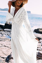 Load image into Gallery viewer, Casual Lace Beach Vacation Maxi Dress