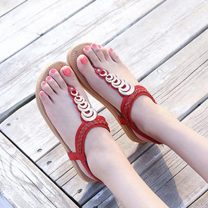 Flat Bottom Bohemian Women's Sandals
