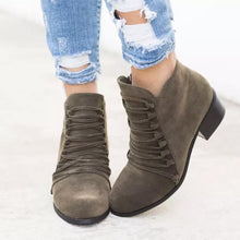 Load image into Gallery viewer, Non-Slip Thick Root Ankle Boots