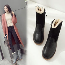 Load image into Gallery viewer, Fashion Flat Snow Boots