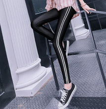 Load image into Gallery viewer, Fashion Warm Show Thin Cotton Ninth Pants Tight Pants