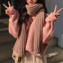 Load image into Gallery viewer, Winter High Collar Plain Loose Casual  Sweater