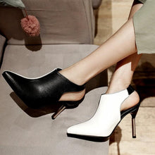 Load image into Gallery viewer, New Color Matching Pointed Head Color Set Foot Women's High Heels