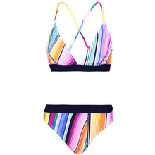 Load image into Gallery viewer, Sexy Colorful Printed Slim Beach Bikini