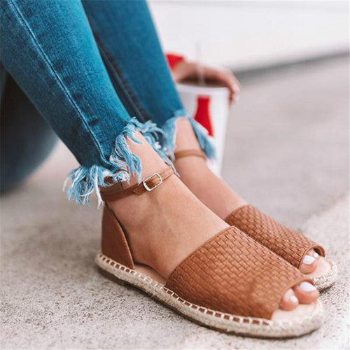 Fashion Wild Retro Flat Sandals