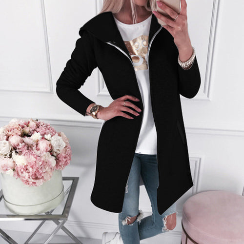 Leisure Medium-length Outer Coat