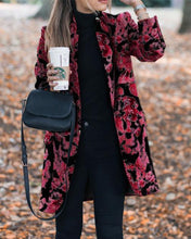 Load image into Gallery viewer, Autumn and winter   fashion prints to trim warm coats