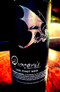 "<h4 style=""text-align:center;"">2017 Draconis Pinot Noir Traditional</h4>"