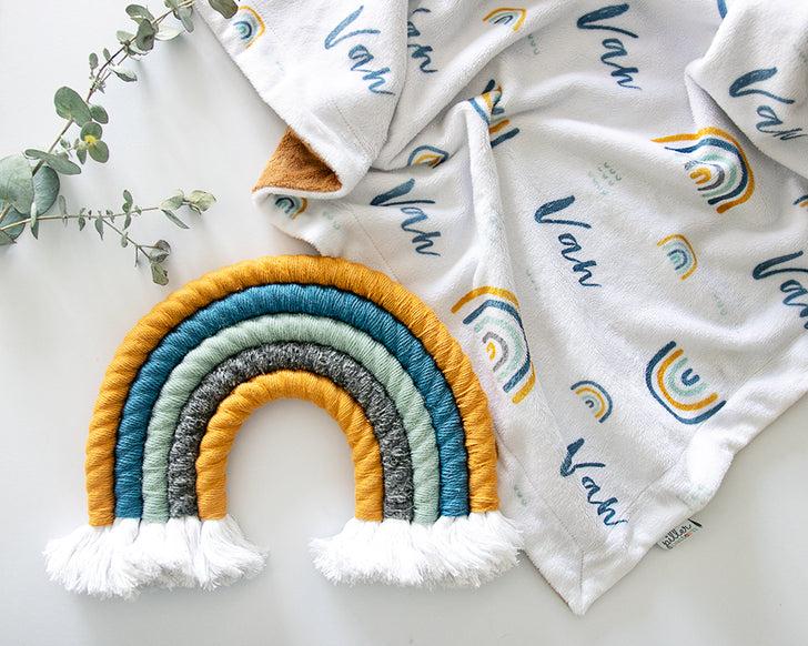 DIY Rope Rainbow Wall Hanging