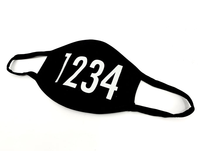 1234 Face Mask - 1234Clothing