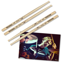 Load image into Gallery viewer, 2x Drumsticks & Poster (unsigned) - 1234Clothing