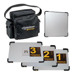Lightstream LITE 3 Starter Kit - 20cm #1-3 Reflectors with Case (0CA-SLL3)