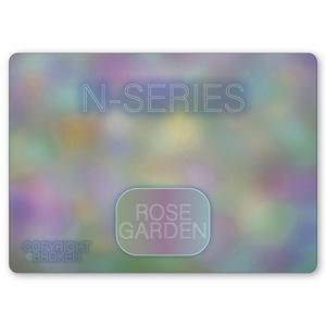 "Brokeh N-Series - NEF ""Rose Garden"" - Natural Enhancement Fill Pattern on Magic Cloth"