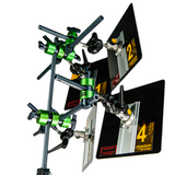 4-Reflector Array Grip Kit for 25cm & 50cm Lightstream, & Eflect Reflectors, by Dedolight California (GF-LS-50)