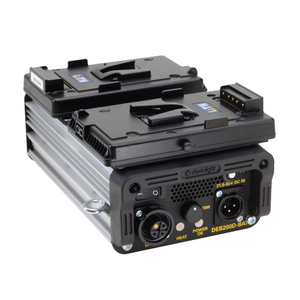 DEB200DT-BATV - Flicker-Free DC, V-Mount Ballast for DLH200DT Light Head
