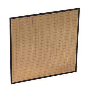 "DEFRL-MG2 - Large (18""x18"") Gold EFLECT Multi-Mirror Reflector (large grid)"