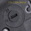 DLDIM-BAT - 12v/24v switchable In-line DC Dimmer for Classic dedolights (DLH4, etc.)