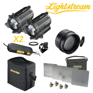 DLH4 - Double Light Set & 25cm Lightstream Kit