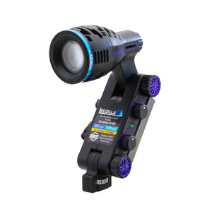 DLOBML-BI-BB - 8w, Ledzilla, Bi-Color Blue/Green LED Focusing Light (450-520nm)