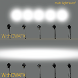 "DWAFX400 - Directional Beam Spreader Filter for ""A"" Size Lights"