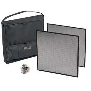 "Large Silver Eflect Reflector Kit - 2, 18"" x 18"" Silver Reflectors with case and Mounting Bracket - (0CAEF-LS2-W)"