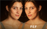 "Brokeh F-Series - ""FEF"" - Facial Enhancement Fill Pattern on Transparency"