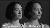 "Brokeh F-Series - ""FEK"" - Facial Enhancement Key Pattern on Transparency"