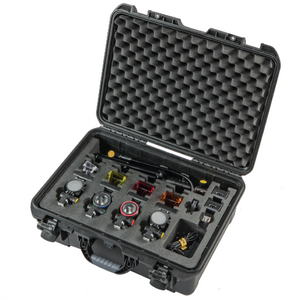 "KMULTI4 - Complete Forensic Kit of 4 Multi-Spectrum ""Ledzilla"" Focusing Lights"