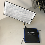 ProFlex 800w Quad Light Sheet Kit - 4x 200w Light Sheets and 4 Channel, 800w Auto-Detecting Dimmer System with DMX - (0CA-PRO-Q200)