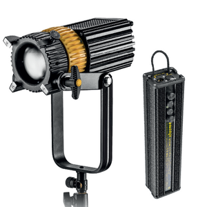 220w, Bi-color, Single Light Set, DLED10-BI Turbo LED Focusing Light with DT10-BI, DMX ballast - (SETDLED10-BI)