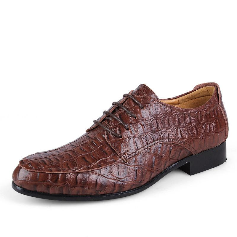 Big Sizes 39-50 Men's Genuine Leather Oxford Shoes