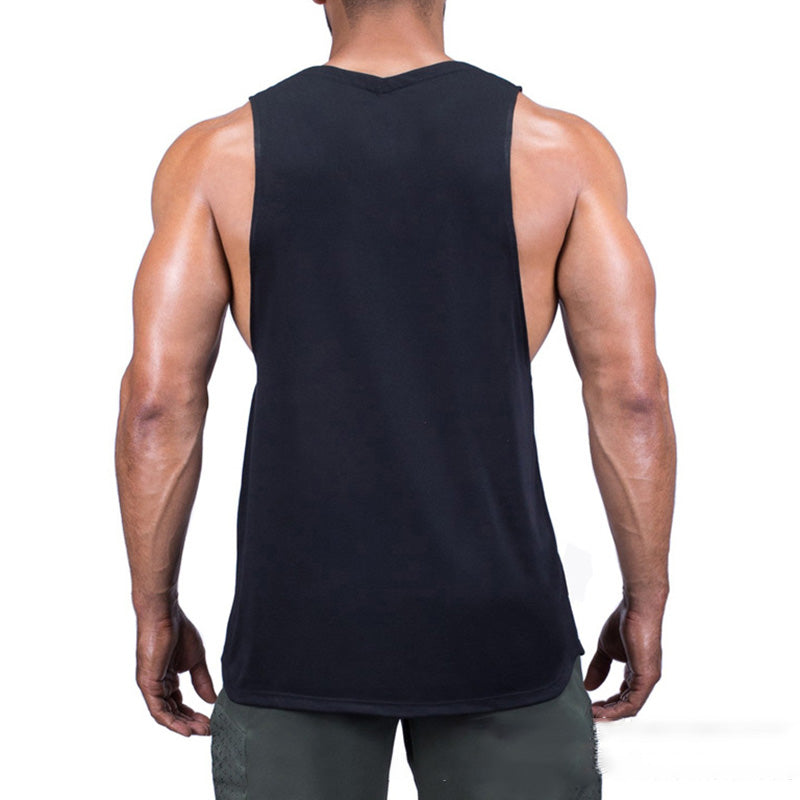 Summer Casual Sports Vest Men's U-neck Tops