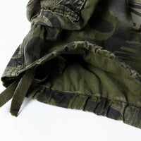 Men's Fashion Camouflage Cotton Cargo Shorts
