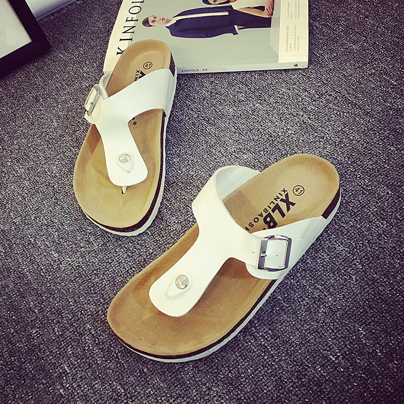 Unisex Flat Heel Casual Slippers Sandals