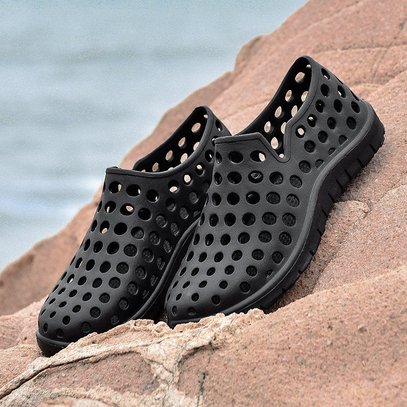 Men's Hollow-Out Light Weight Beach Casual Shoes Water Sandals